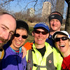 Chicago Lakefront 50K Spring 08 : The annual Chicago Lakefront 50K -- one of my favorite spring events -- was on April 5.  Unfortunately, that was only a week before the Mad City 100K.  My little legs weren't up to doing both, so I just went to Chicago to enjoy a slumber party at Nikki and Jennifer's and then run one of the three loops of the 50K the next morning.  Of course, the year that I don't sign up to do the whole race the weather is WONDERFUL!!!!  For once, Pat, Chicago DIDN'T blow!  :)