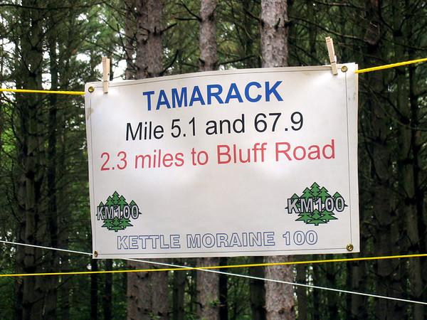 KM 100 2007 - Tamarack Aid Station
